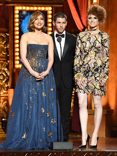 Jennifer Lopez, Nick Jonas and Kiesza