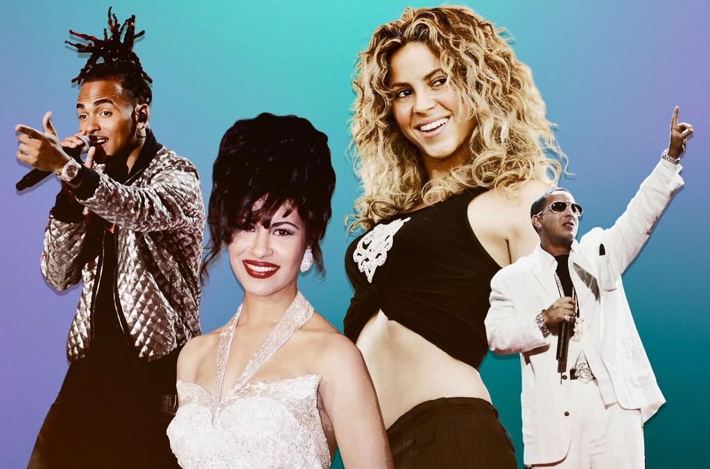 Ozuna, Selena Quintanilla, Shakira & Daddy Yankee