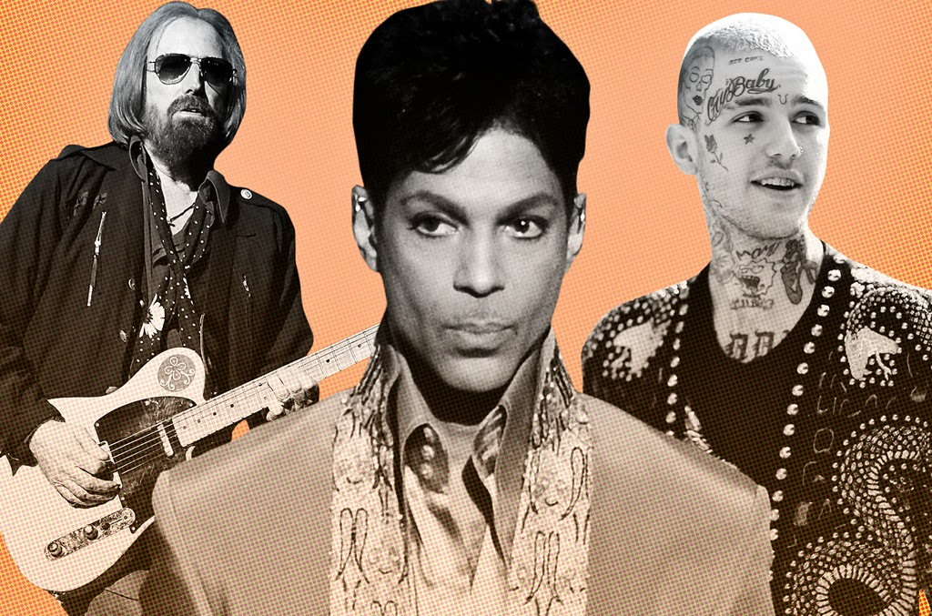 Tom Petty, Prince & Lil Peep
