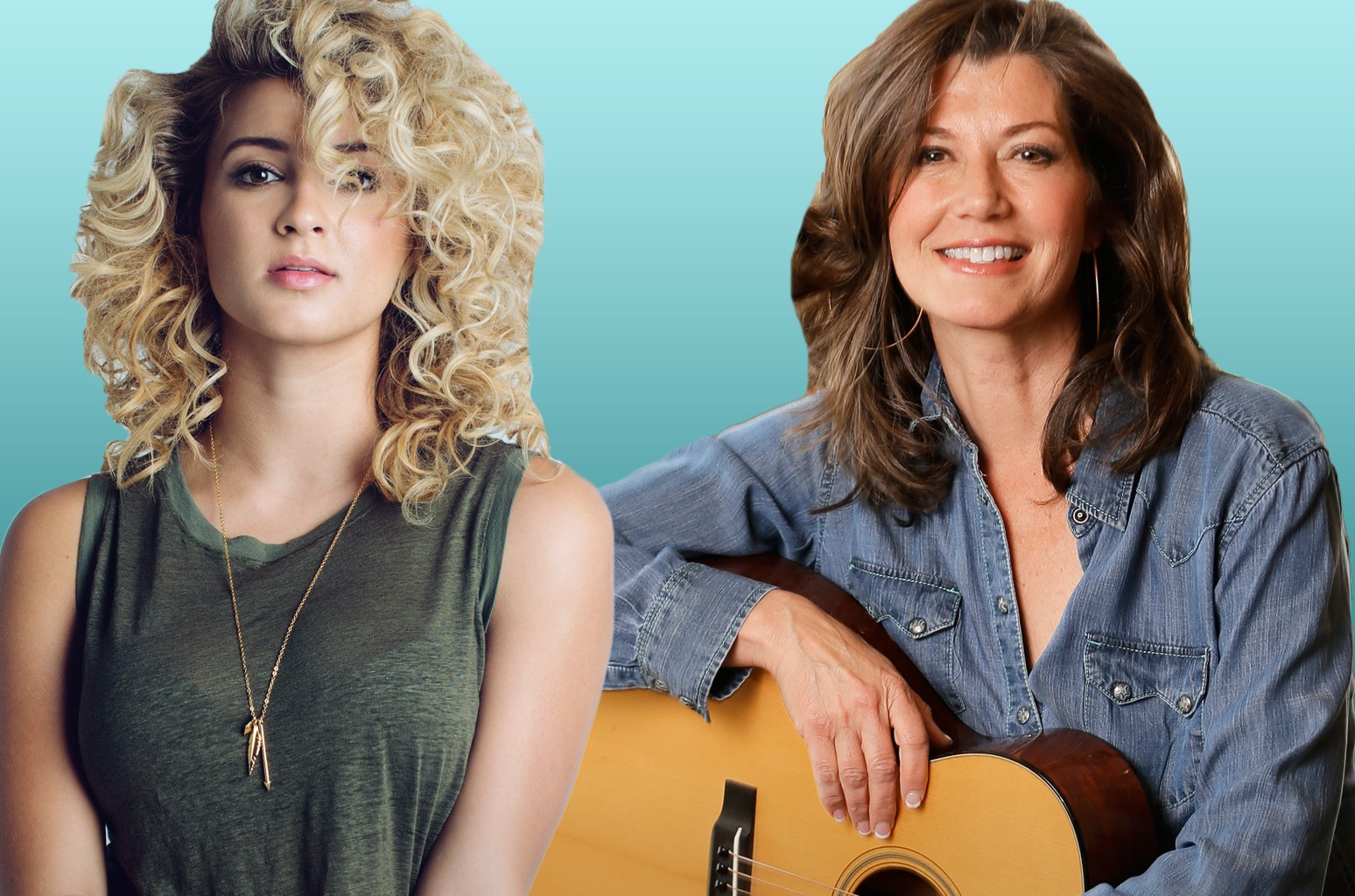 Tori Kelly and Amy Grant