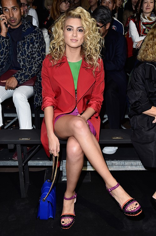 Tori Kelly attends the Lanvin show as part of the Paris Fashion Week