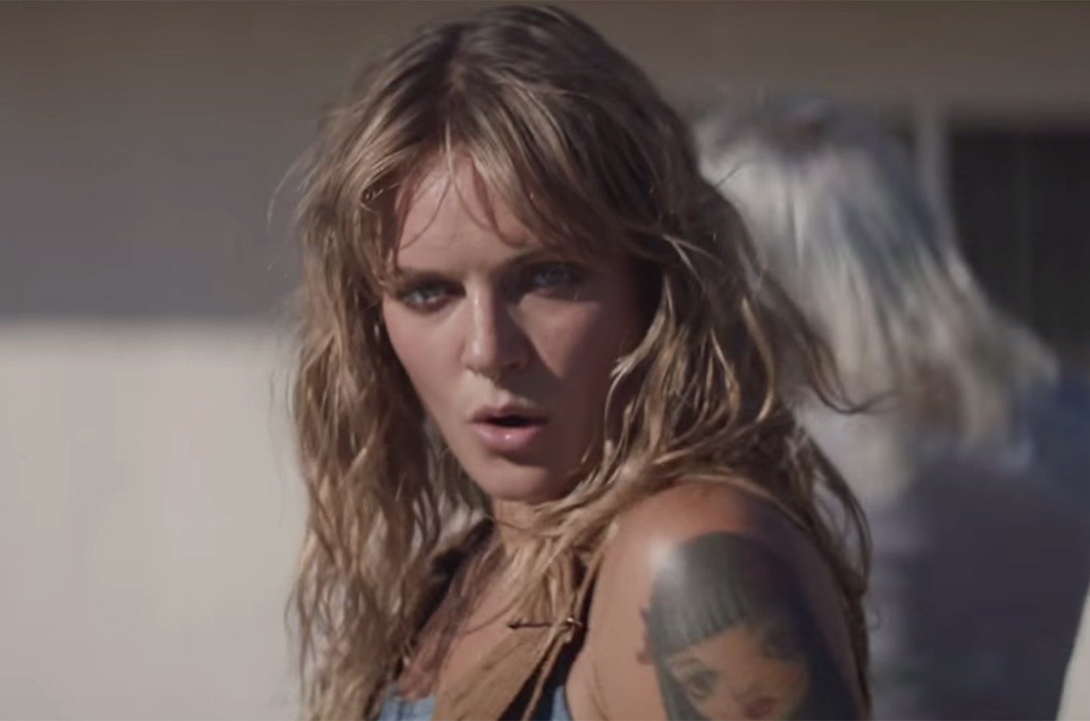 "Tove Lo in the video for ""Cool Girl."""