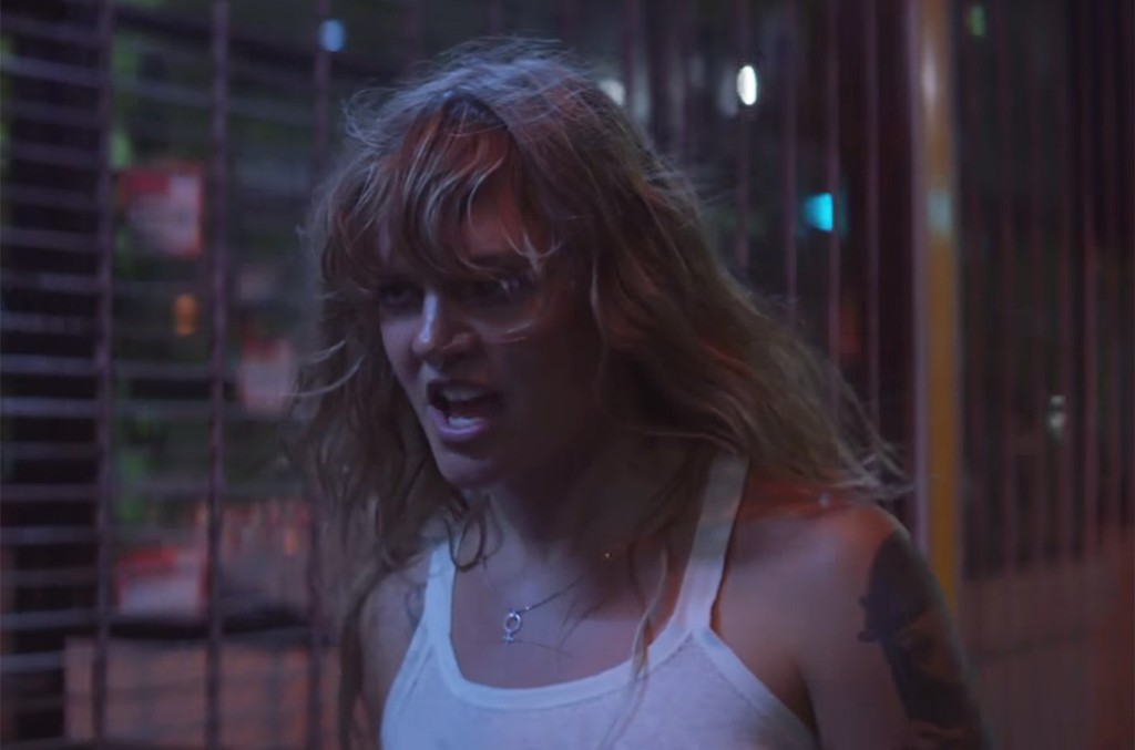 "Tove Lo in the video for ""True Disaster."""