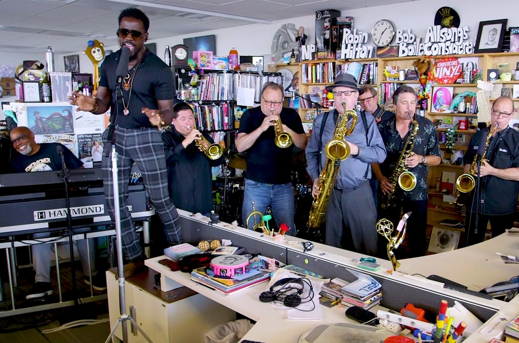 Tower of Power Tiny Desk