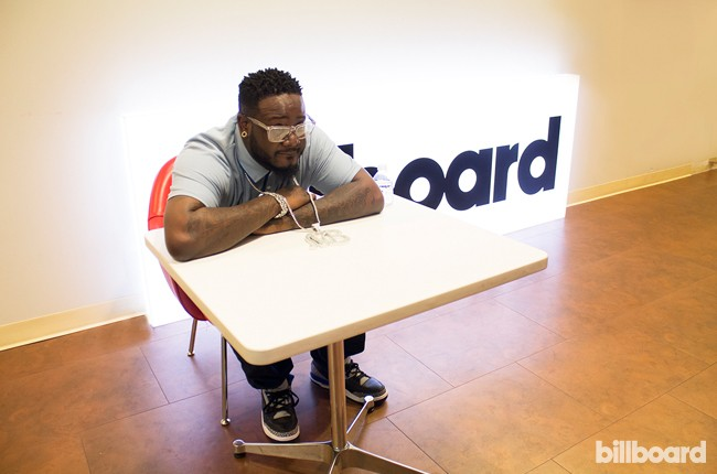 T-Pain visits Billboard's New York offices on June 16, 2015.