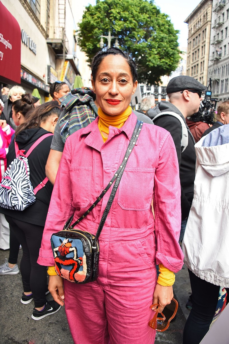 Tracee Ellis Ross attends the Women's March Los Angeles on January 21, 2017 in Los Angeles, California.  (Photo by Araya Diaz/Getty Images)