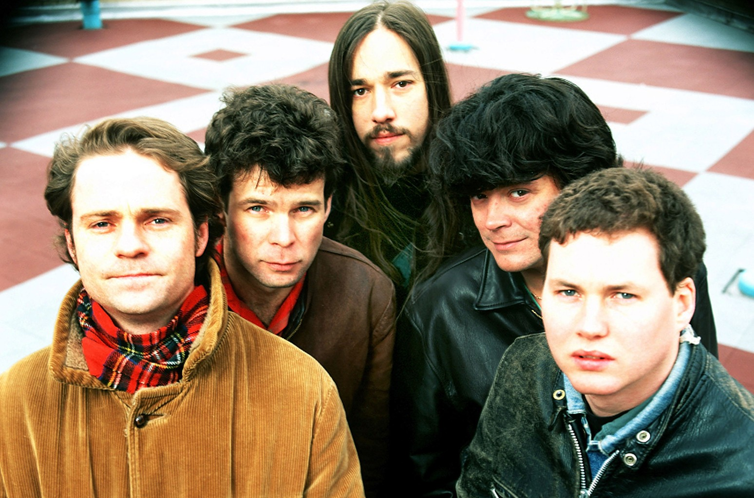 The Tragically Hip photographed in New York City