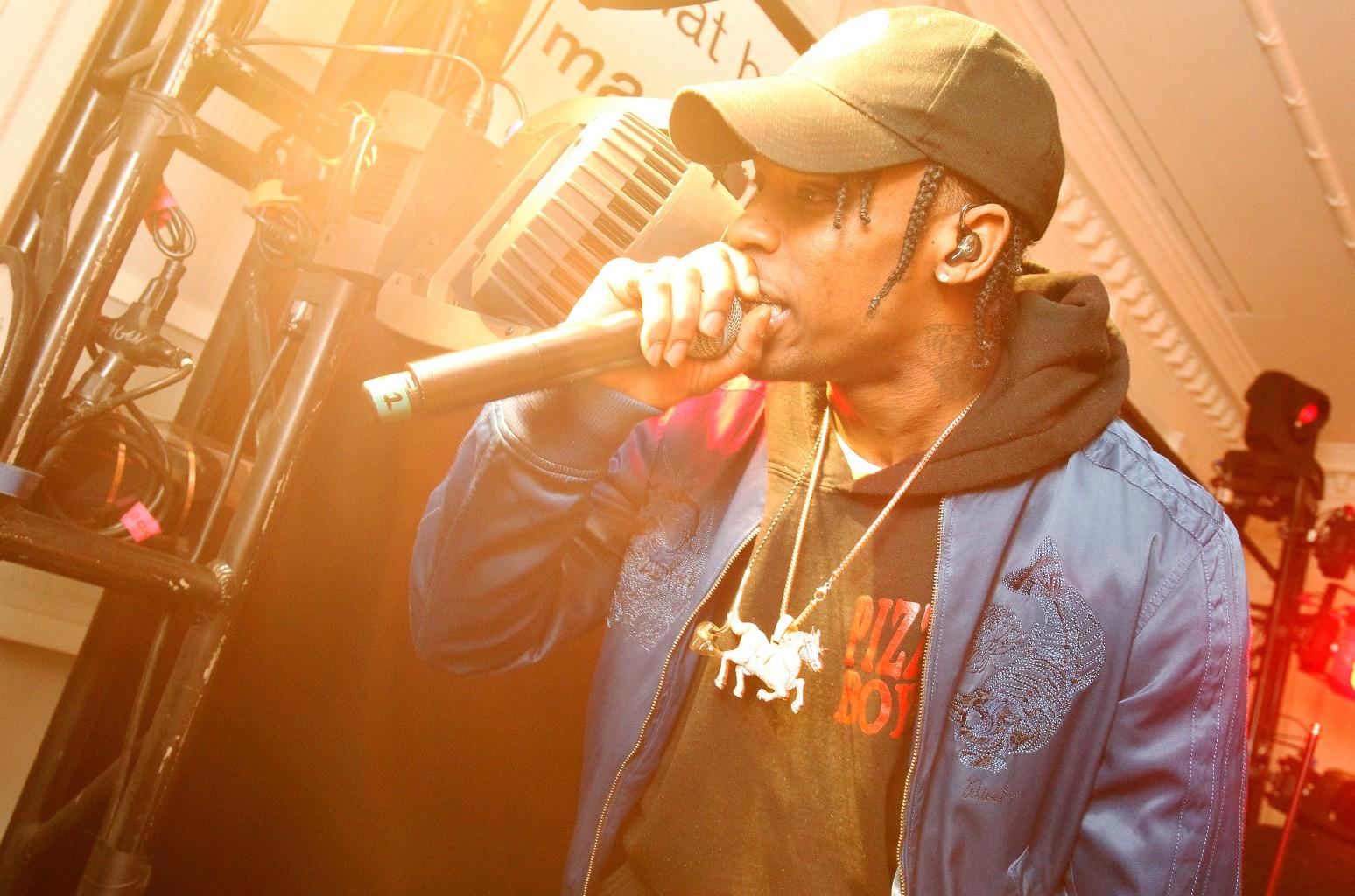 Travis Scott performs on Feb. 13, 2016 in New York City.