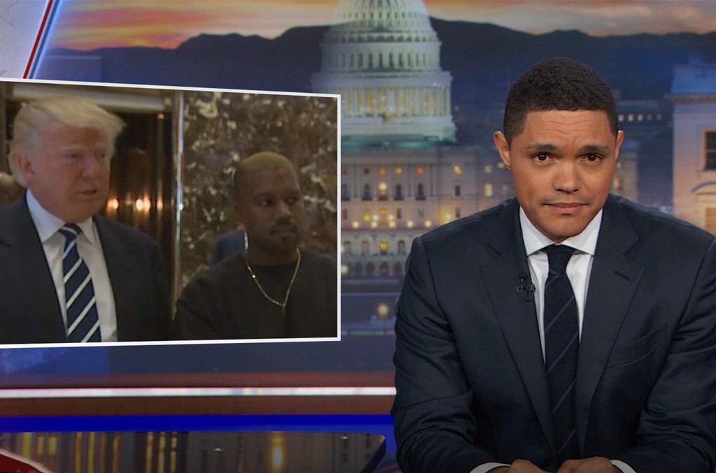 Trevor Noah on The Daily Show.