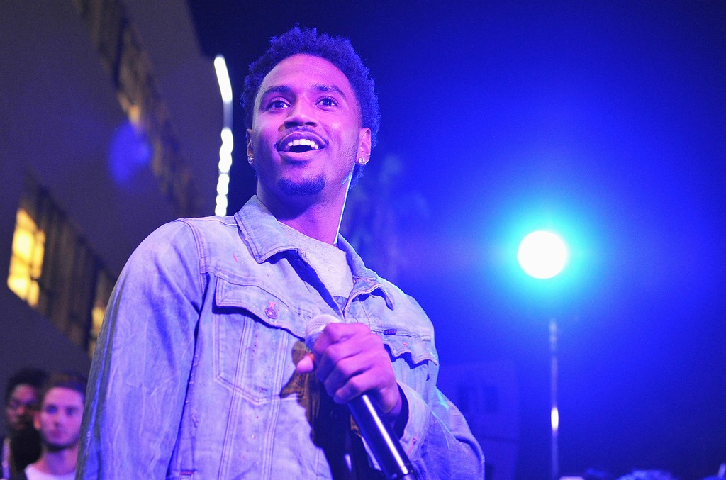 Trey Songz performs at NeueHouse Hollywood on Aug. 31, 2016 in Los Angeles.