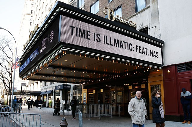 Beacon Theatre at the  'Time Is Illmatic' Opening Night Premiere