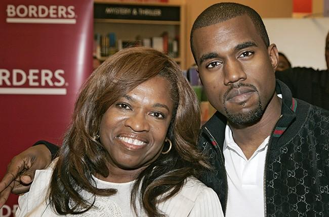 Donda West and Kanye West