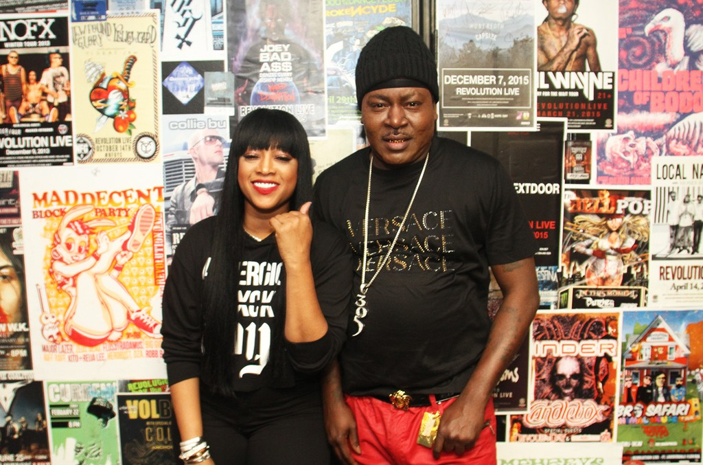 Trina and Trick Daddy at Revolution on Feb. 4, 2016 in Fort Lauderdale, Fla.