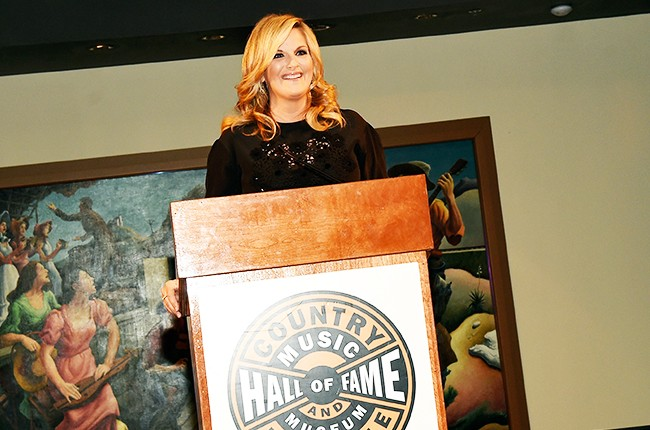Trisha Yearwood: The Song Remembers When exhibition opening at the Country Music Hall of Fame and Museum on June 30, 2015 in Nashville, Tennessee