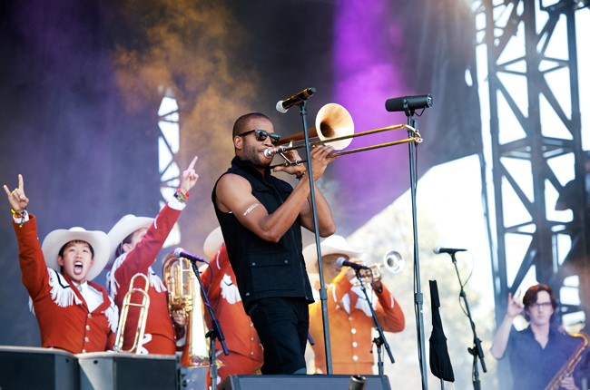 Austin City Limits 2014 -- Trombone Shorty