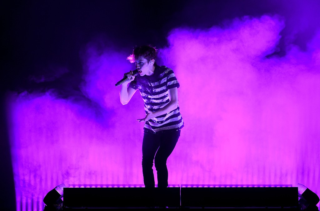 Troye Sivan performs at the 2016 Billboard Music Awards
