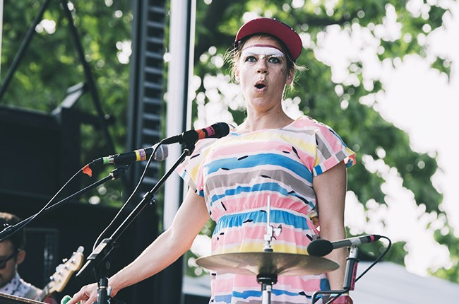 Tune Yards at Pitchfork 2014