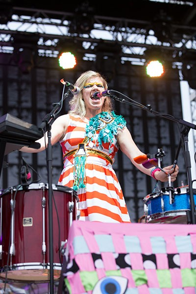 Tune-Yards at Firefly 2014.