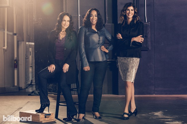tv+music power players 2015 Dawn Soler, Shonda Rhimes and Alex Patsava