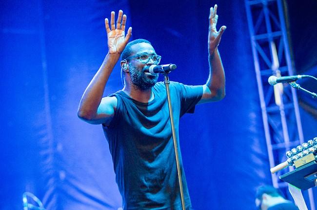 Tunde Adebimpe of TV on the Radio 2016