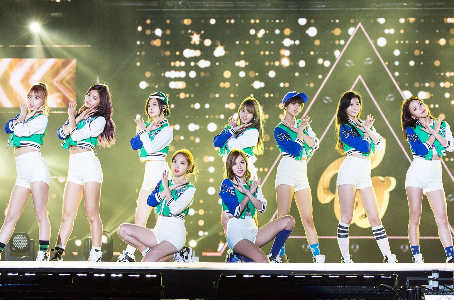 Twice perform in 2016
