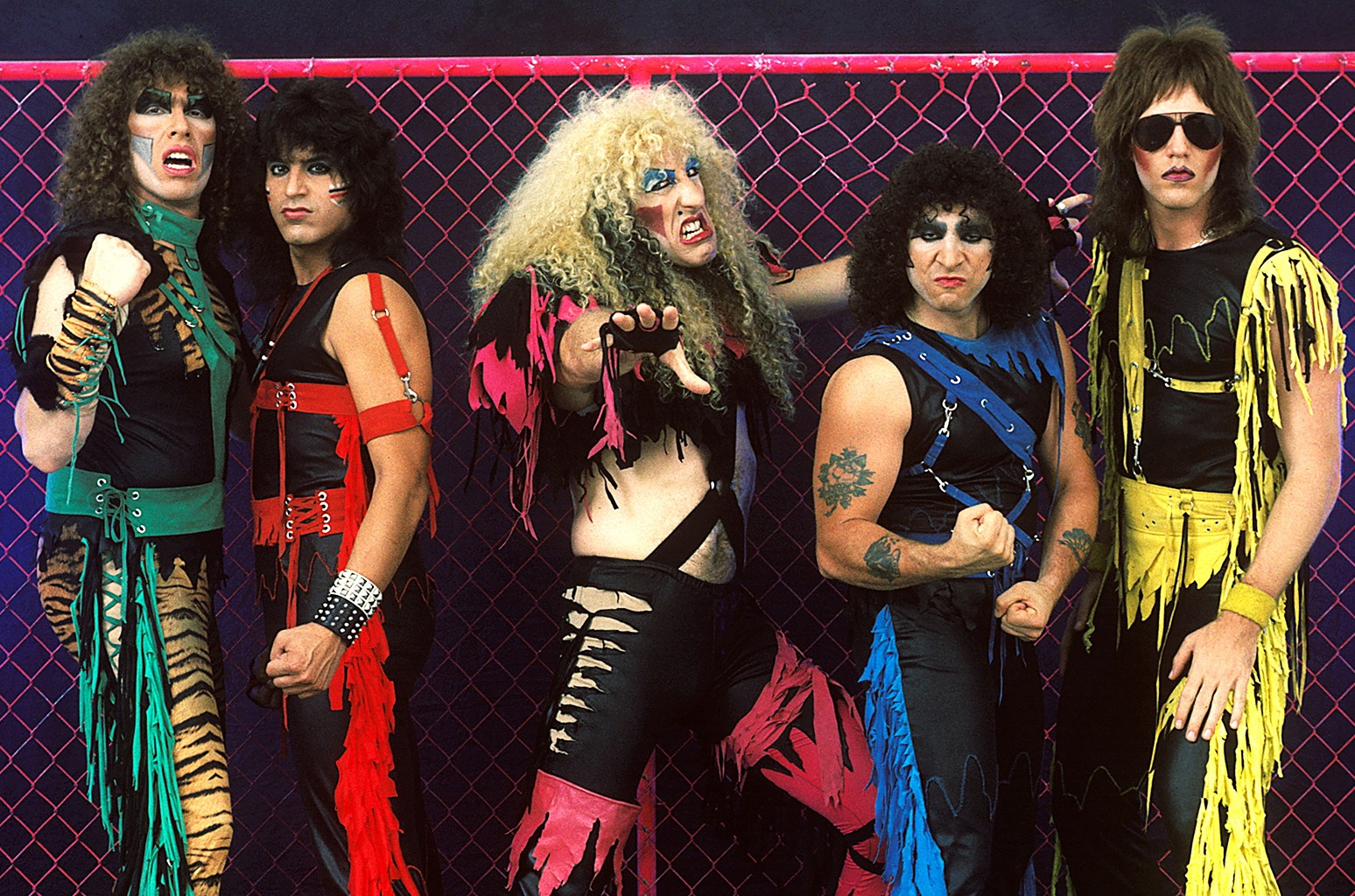 Twisted Sister photographed in 1984