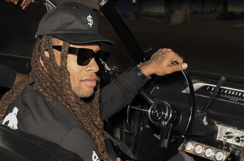 Ty Dolla $ign attends HUF x Ty Dolla $ign Launch Party