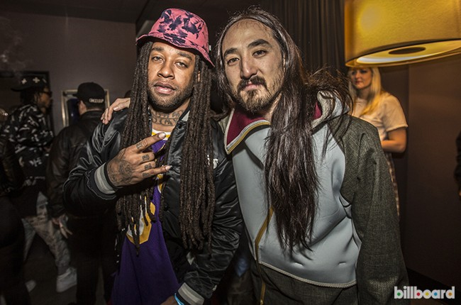 Ty Dolla Sign and Steve Aoki