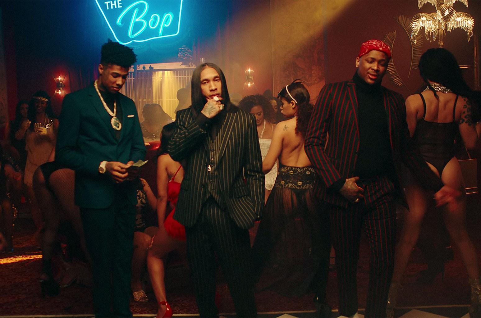 """Tyga, YG and Blueface, """"Bop"""""""