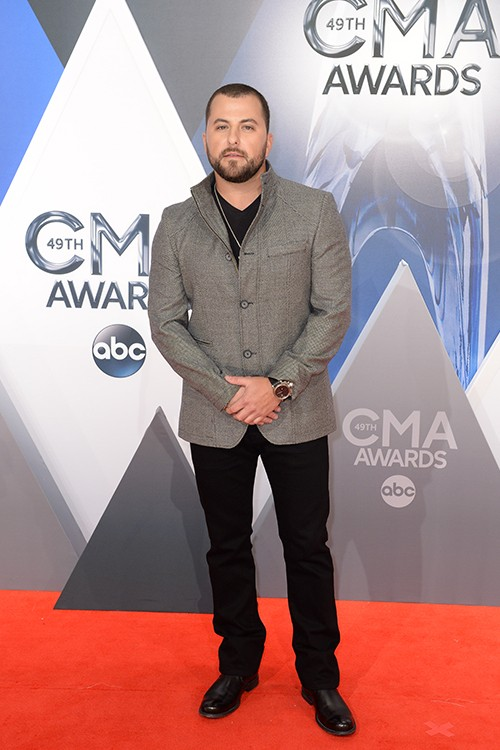 Tyler Farr attends the 49th annual CMA Awards
