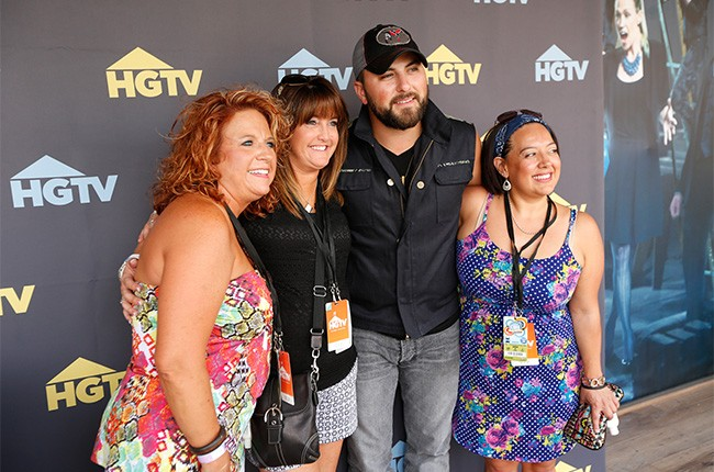 Tyler Farr with fans at the CMA Music Festival