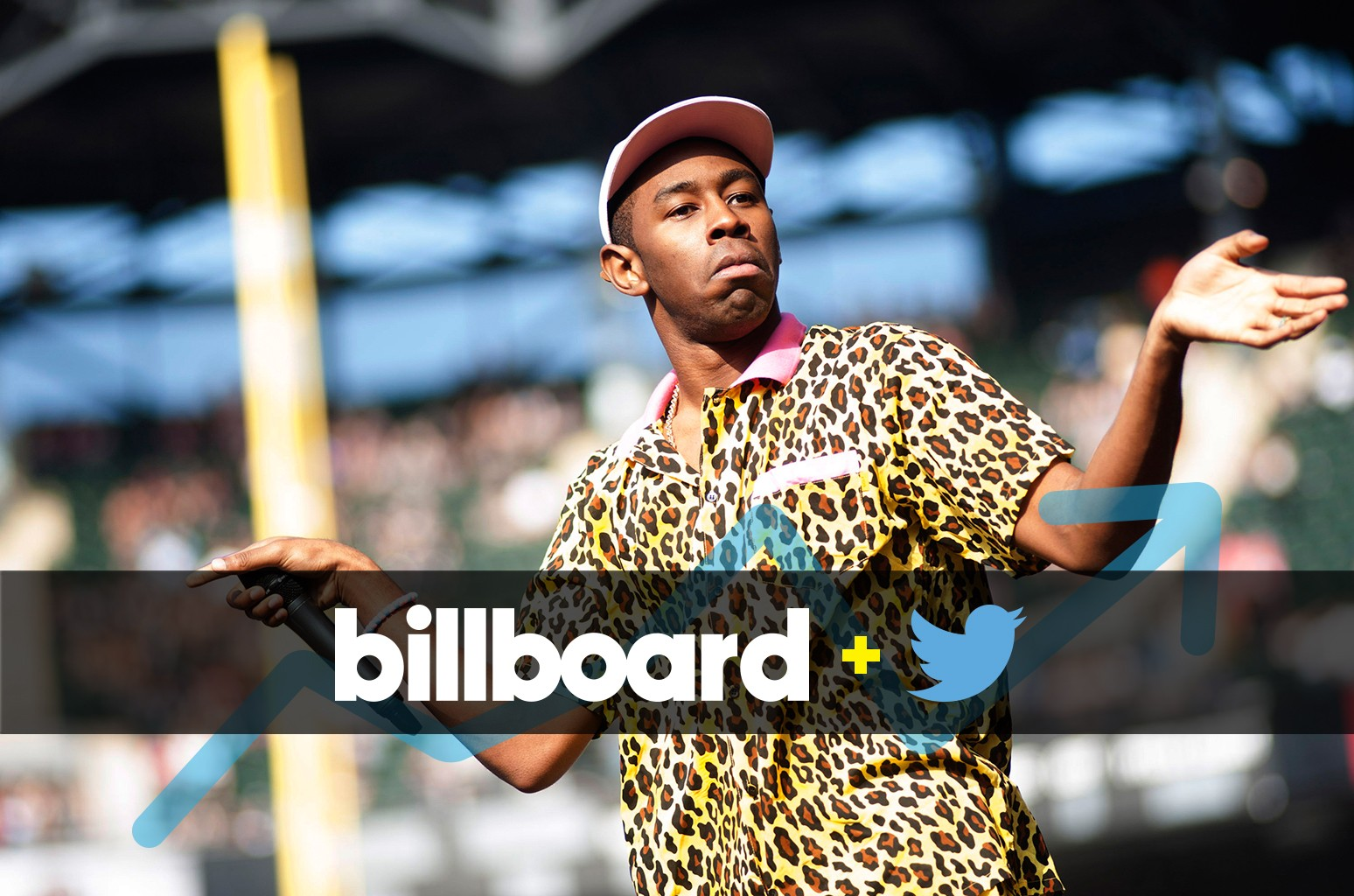 Tyler the Creator at the Magnificent Coloring Day Festival at Comiskey Park in Chicago on Sept. 24, 2016.