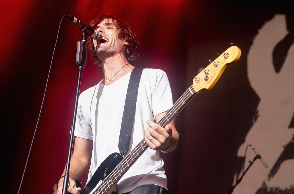 Tyson Ritter of The All American Rejects