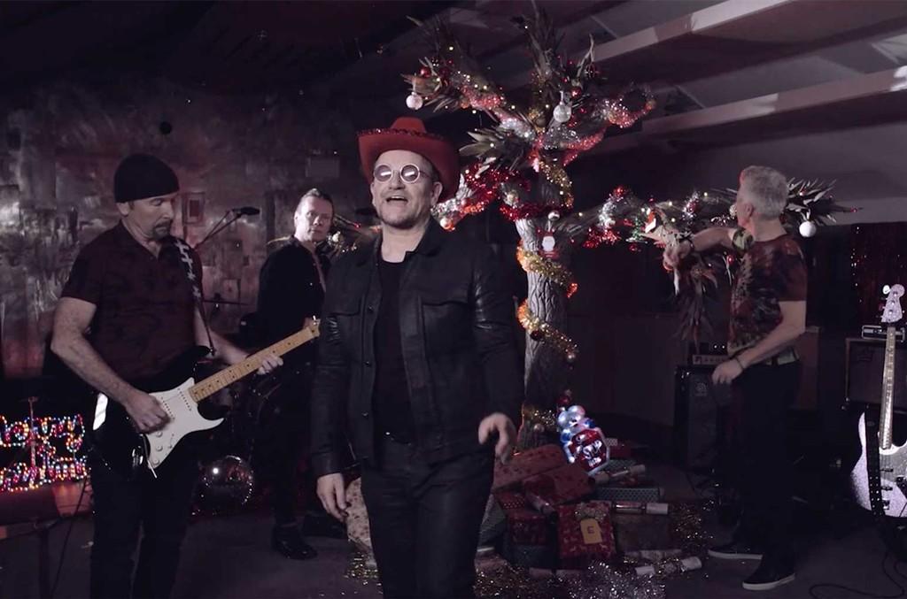 U2 'Happy Christmas'