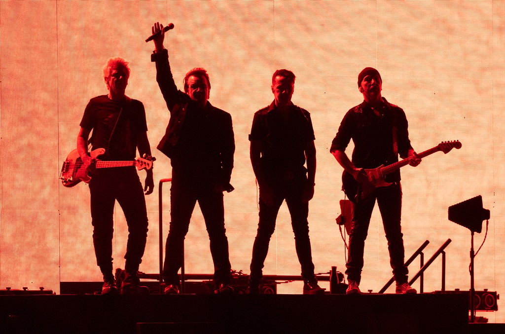 Adam Clayton, Bono, Larry Mullen Jr, The Edge of U2
