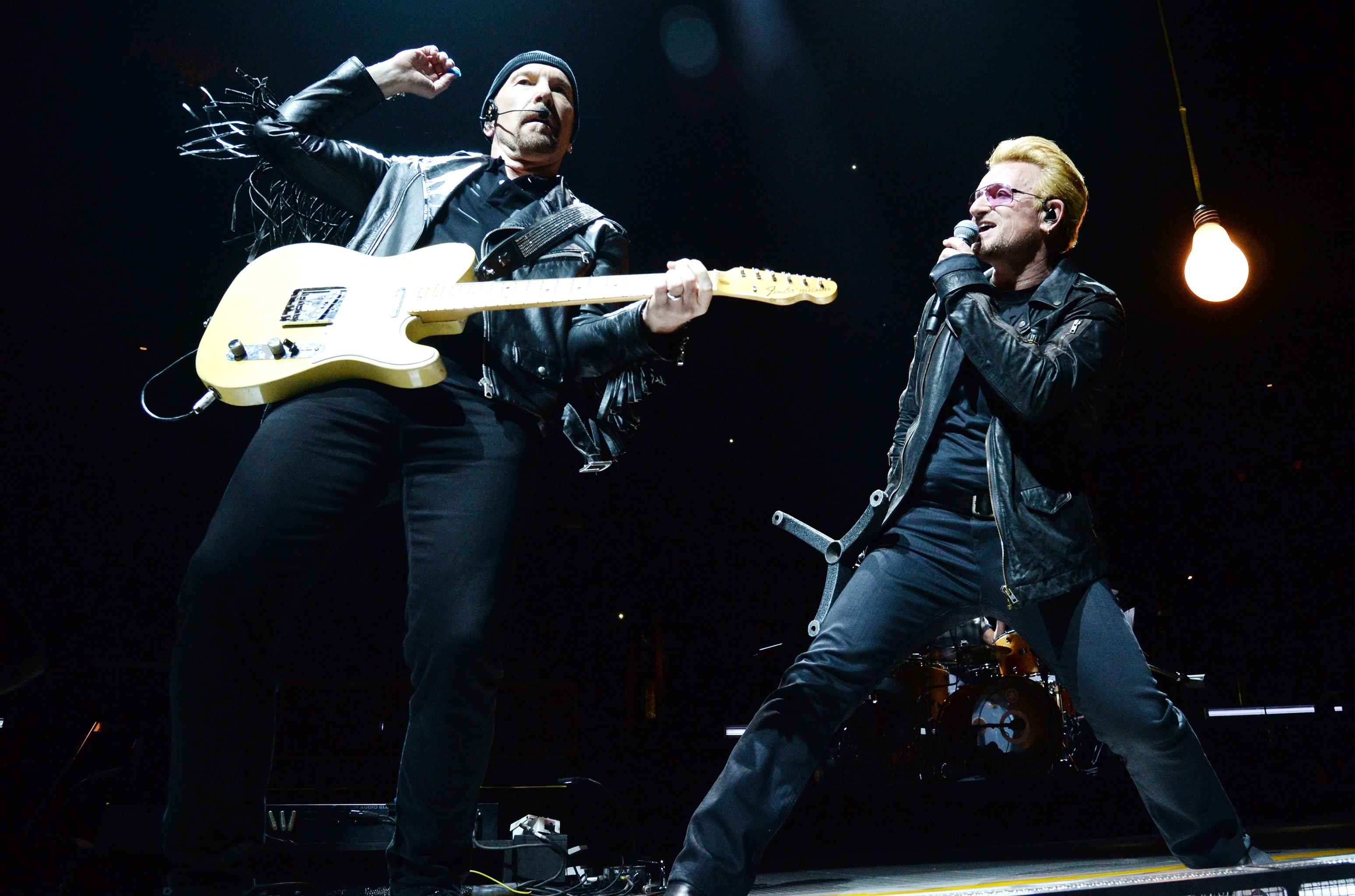 The Edge & Bono, 2015