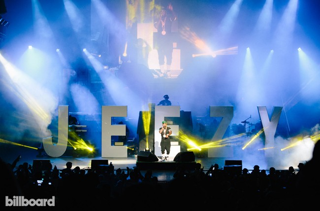Jeezy at the Under the Influence Tour