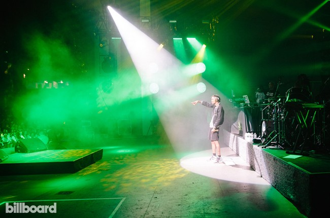 Wiz Khalifa at the Under the Influence Tour