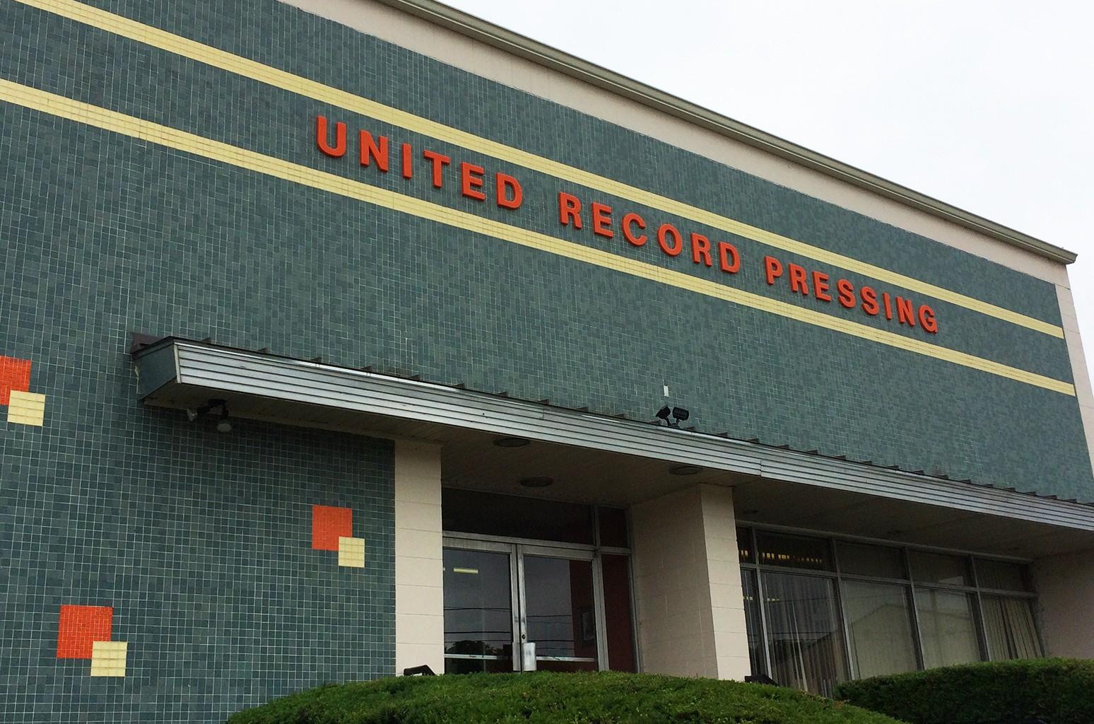 United Record Pressing in Nashville, Tenn.