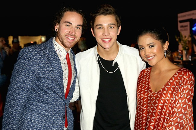Us the Duo and Austin Mahone at the 2014 Billboard Music Awards