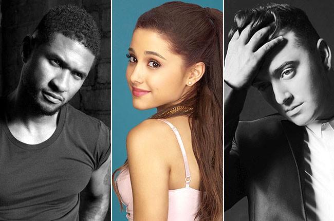 Usher, Ariana Grande, Sam Smith