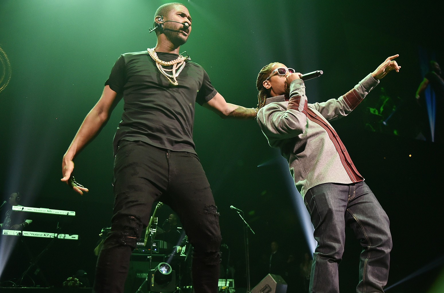 Usher and Lil Jon