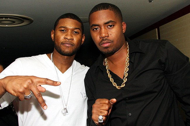 Usher and Nas