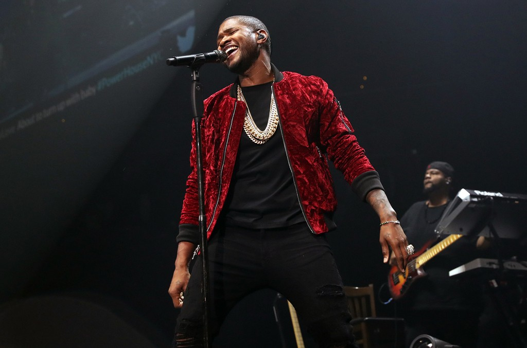 Usher performs at Power 105.1's Powerhouse