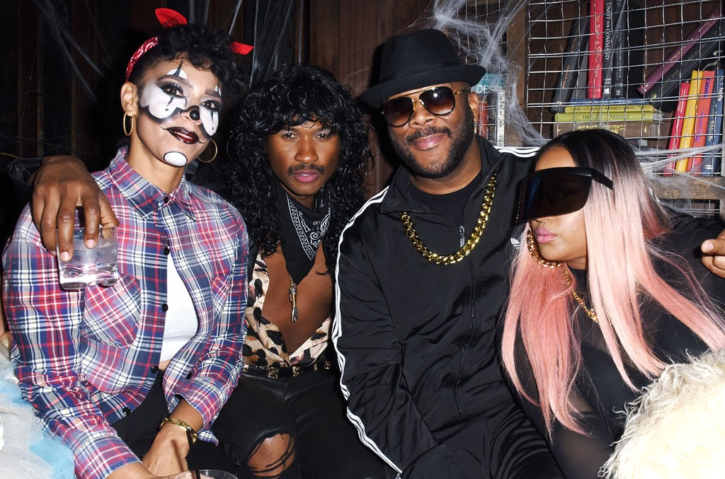 Grace Miguel, Usher, Tyler Perry and Angie Biyonce, 2017