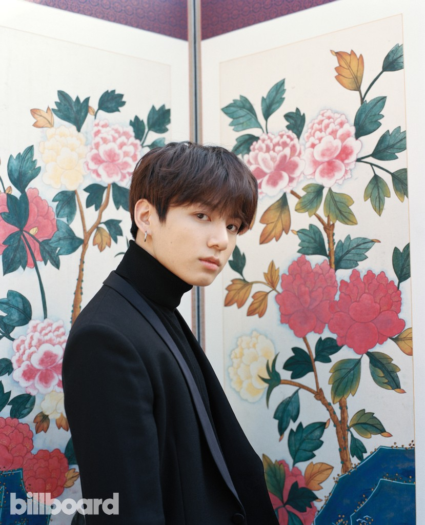Jungkook photographed on Jan. 19, 2018 at Korea House in Seoul.