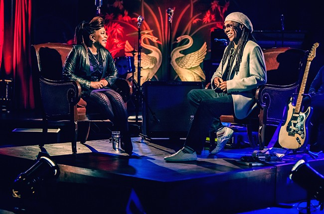 Valerie Simpson and Nile Rodgers