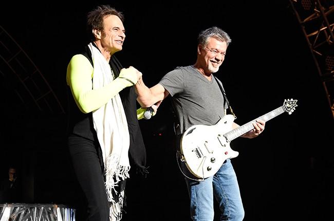 David Lee Roth and Eddie Van Halen 2015