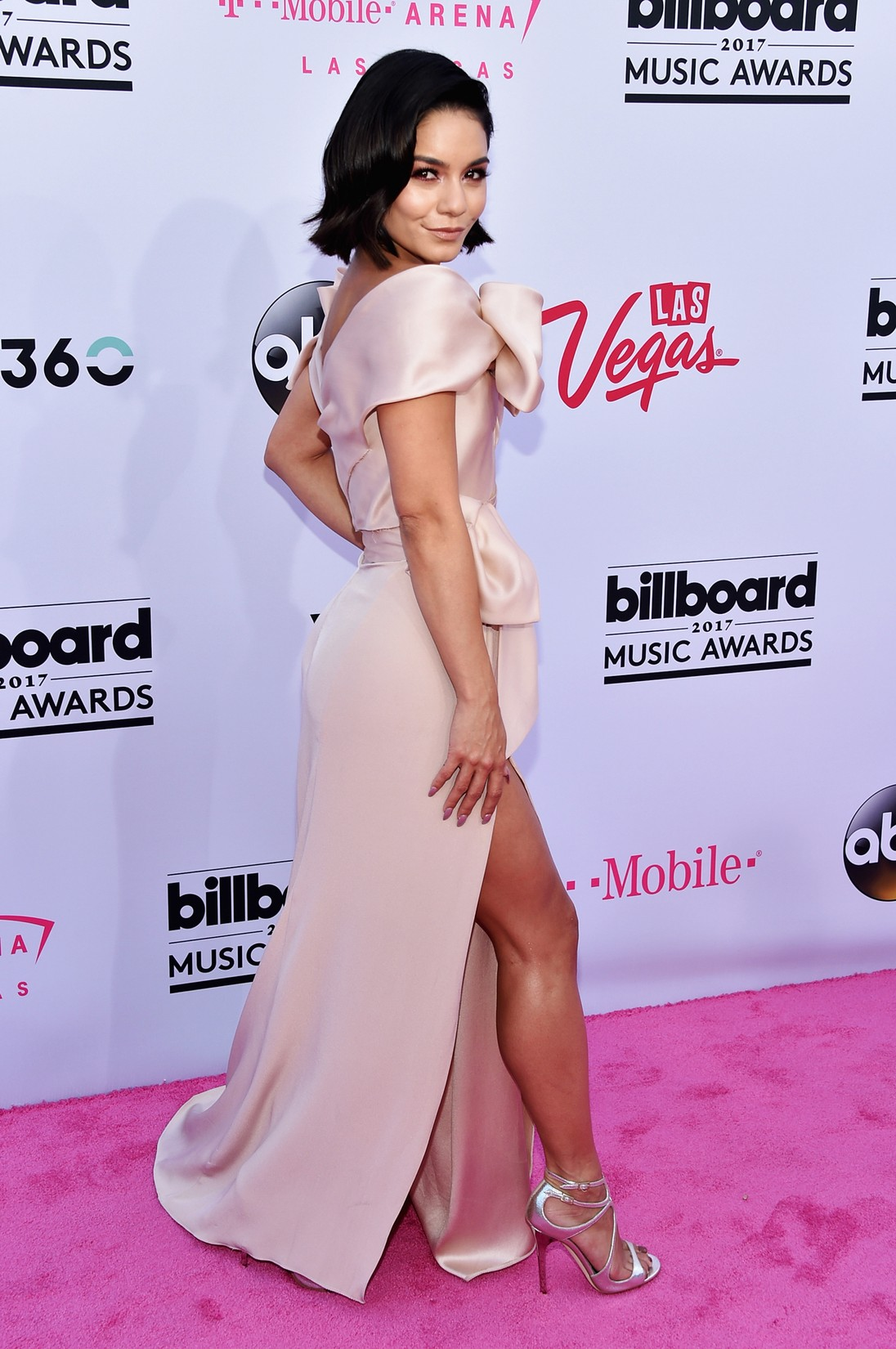 Vanessa Hudgens attends the 2017 Billboard Music Awards at T-Mobile Arena on May 21, 2017 in Las Vegas.