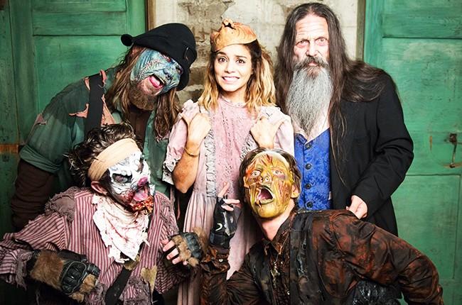 Vanessa Hudgens at Knott's Scary Farm
